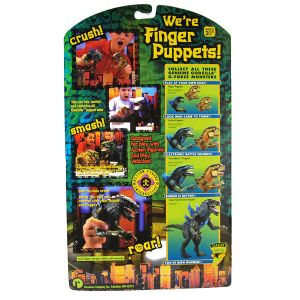 Finger Puppets - Godzilla Movie - mib