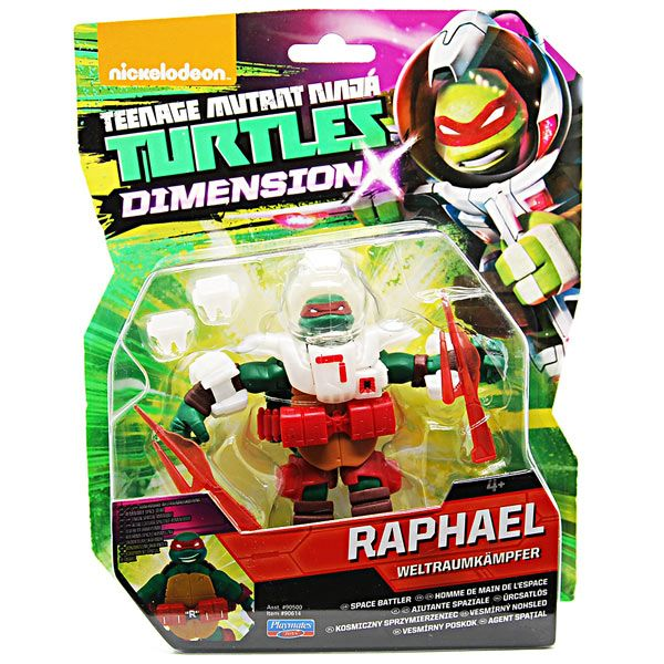Raphael Space Battler - TMNT Dimension X - moc