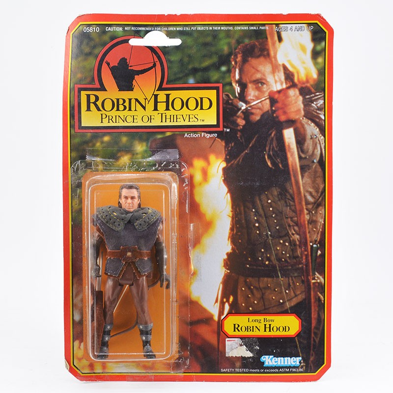 Robin Hood Long Bow Robin Hood Action Figur Kenner 1991 resealed