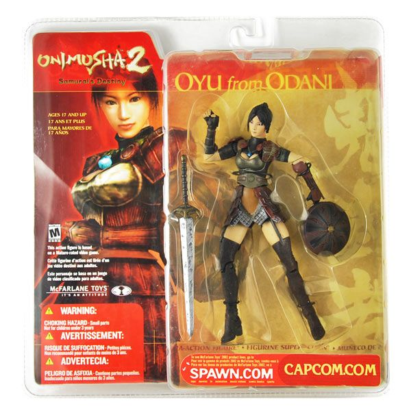 Oyu from Odani Figur - Onimusha 2 - Capcom - mib
