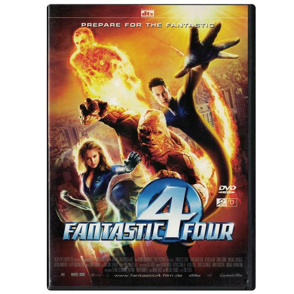 Fantastic 4 Four - DVD