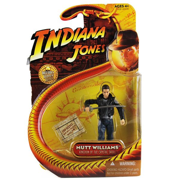 Mutt Williams ( Schwert ) - Indiana Jones - Action Figur ovp