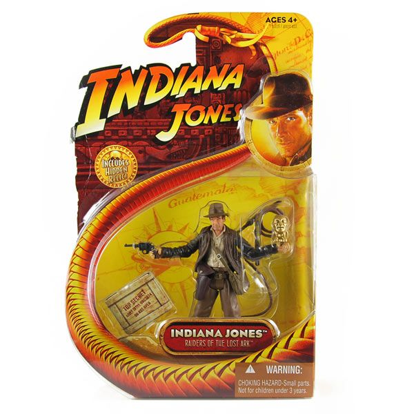 Indiana Jones ( RotlA ) - Indiana Jones - Action Figur ovp