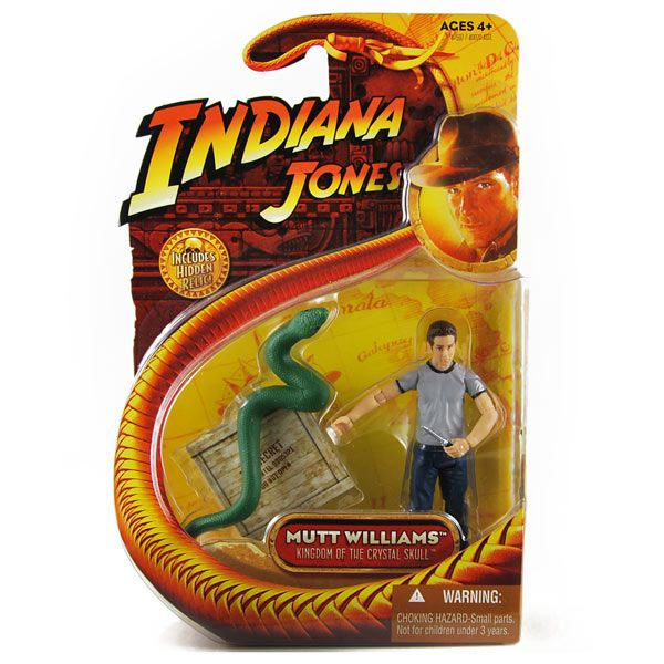 Mutt Williams - Indiana Jones - Action Figur ovp