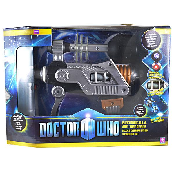 Doctor Who - Electronic Q. L. A. Anti-time Device - 1:1- Weapon